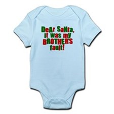 Dear Santa | Brothers Fault Infant Bodysuit