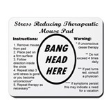Stress Reducing Mousepad Mousepad