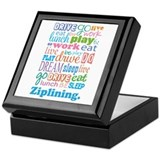 Zipline Keepsake Box
