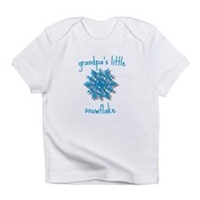 Grandpas Little Snowflake Infant T-Shirt