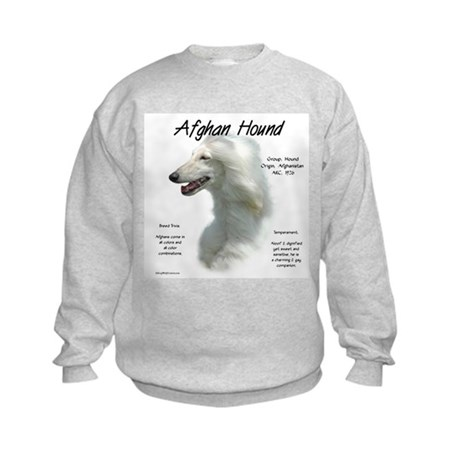 Afghan (white) Kids Sweatshirt