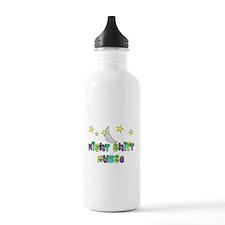 Night Shift nurse 2.PNG Water Bottle