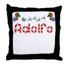 Adolfo, Christmas Throw Pillow
