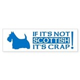 Scotty dog Bumper Stickers