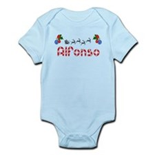Alfonso, Christmas Infant Bodysuit