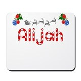 Alijah, Christmas Mousepad
