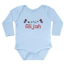 Alijah, Christmas Long Sleeve Infant Bodysuit