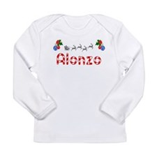 Alonzo, Christmas Long Sleeve Infant T-Shirt