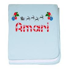 Amari, Christmas baby blanket