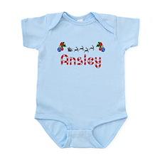 Ansley, Christmas Infant Bodysuit
