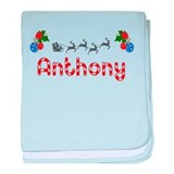 Anthony, Christmas baby blanket