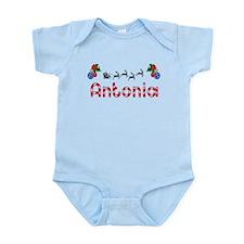 Antonia, Christmas Infant Bodysuit