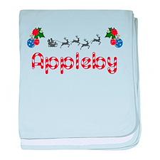 Appleby, Christmas baby blanket