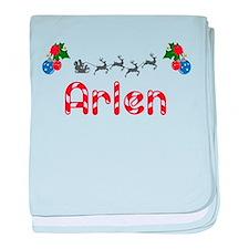 Arlen, Christmas baby blanket