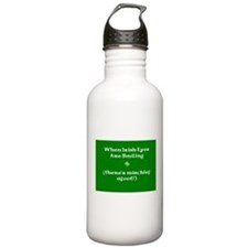 Irisheyescafe.jpg Water Bottle