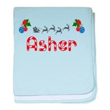 Asher, Christmas baby blanket