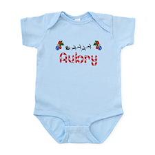 Aubry, Christmas Infant Bodysuit