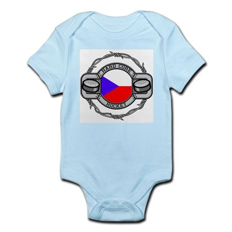 Czech Republic Hockey Infant Bodysuit