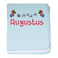 Augustus, Christmas baby blanket