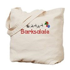 Barksdale, Christmas Tote Bag