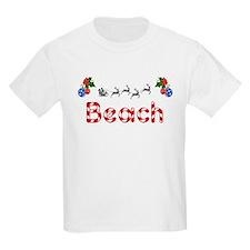 Beach, Christmas T-Shirt