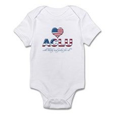 I <3 ACLU Infant Bodysuit