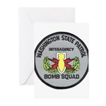 WSP Bomb Squad Greeting Cards (Pk of 10)