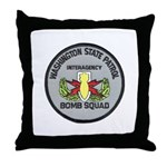 WSP Bomb Squad Throw Pillow