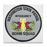 WSP Bomb Squad Tile Coaster