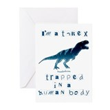 I'm a T-Rex Greeting Cards (Pk of 10)