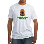 Border Patrol Pilot Fitted T-Shirt