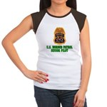 Border Patrol Pilot Women's Cap Sleeve T-Shirt