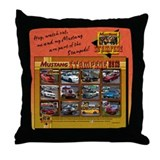 2013 STAMPEDE Mustang Throw Pillow