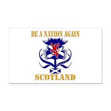 Be a nation again Scotland Rectangle Car Magnet