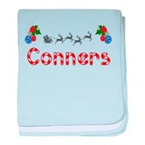 Conners, Christmas baby blanket