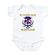 Be A Nation Again Scotland Infant Bodysuit