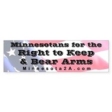 MNRKBA Bumper Sticker Bumper Sticker