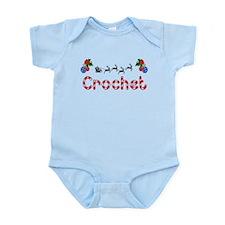 Crochet, Christmas Infant Bodysuit