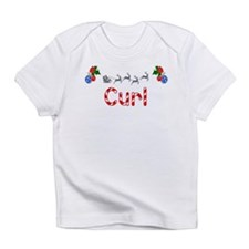 Curl, Christmas Infant T-Shirt