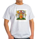 Scotland Coat of Arms Ash Grey T-Shirt