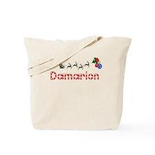 Damarion, Christmas Tote Bag