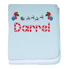 Darrel, Christmas baby blanket