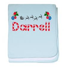 Darrell, Christmas baby blanket