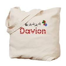 Davion, Christmas Tote Bag