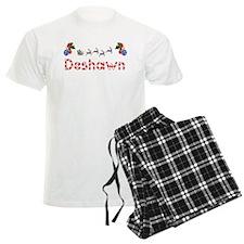 Deshawn, Christmas pajamas
