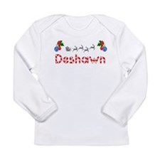 Deshawn, Christmas Long Sleeve Infant T-Shirt