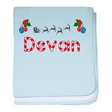 Devan, Christmas baby blanket