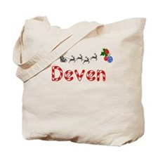 Deven, Christmas Tote Bag