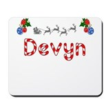 Devyn, Christmas Mousepad