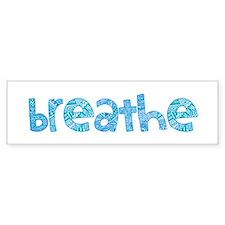 Tribal Breathe (Red or Blue) Bumper Sticker